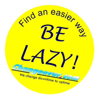 Be Lazy button